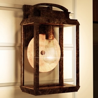 Quoizel Byron Outdoor Fixture with Vintage Bulb