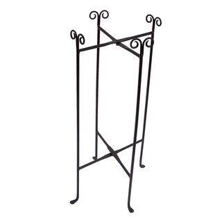 Round Party Tub Iron Floor Stand
