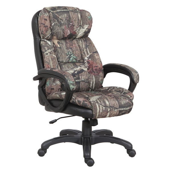 Shop Mossy Oak Camouflage Executive Chair Free Shipping