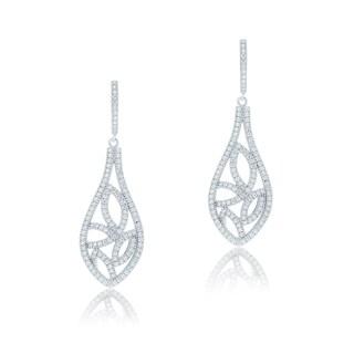 Blue Box Jewels Vintage Petal Dangle Earrings