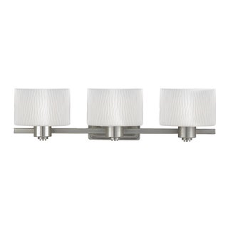 Pacifica 3-light Empire Silver Bath Fixture