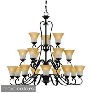 Quoizel Duchess Three-Tier 18 Light Chandelier