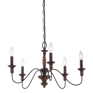 Quoizel 'Holbrook' 5-light Chandelier