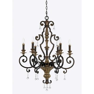 Quoizel 'Marquette' 6-light Chandelier