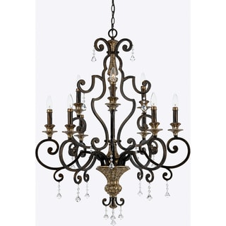 Quoizel 'Marquette' 9-light Chandelier