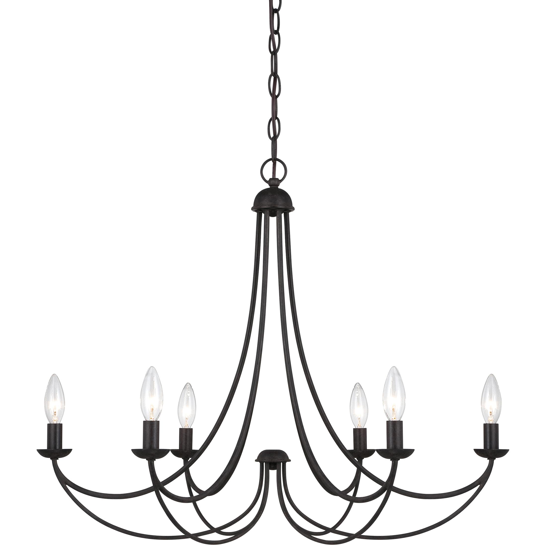 Quoize 'Mirren' 6-light Chandelier