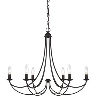 Quoize 'Mirren' 6-light Chandelier