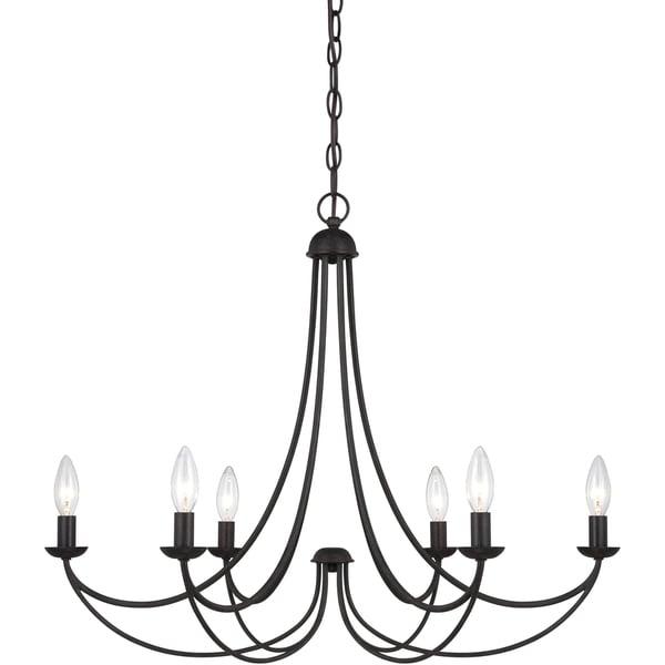 Quoizel 'Mirren' 6-light Chandelier
