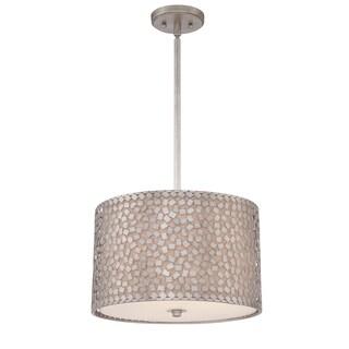 Quoize 'Confetti' 3-light Pendant - Silver