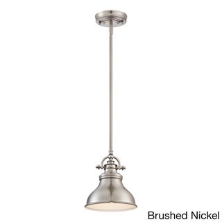 Quoizel 'Emery' 1-light Mini-pendant (3 options available)