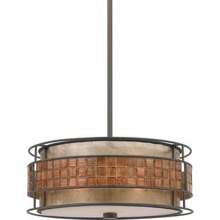 Quoizel 'Laguna' 3-light Pendant