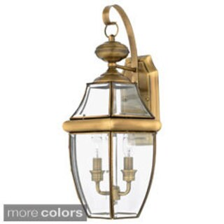 Quoizel Newbury 2-light 60-watt Outdoor Fixture