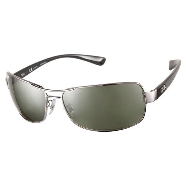 Ray-Ban RB3379 004 58 Gunmetal Polarized 64 Sunglasses