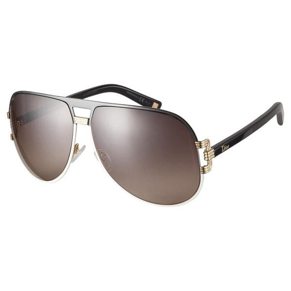 Dior Graphix 2 V8I D8 Black Beige Sunglasses
