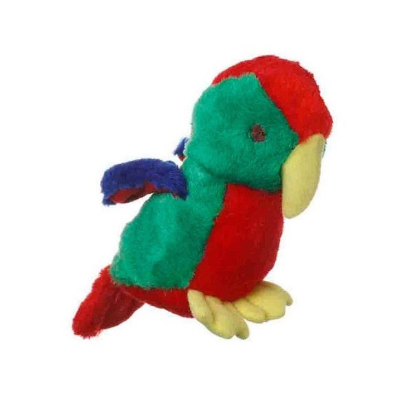 Shop Multipet Look Who's Talking Parrot Plush Dog Toy