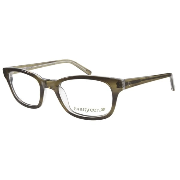 11c15e1f8ed Shop Evergreen 6007 Grn Crystal Prescription Eyeglasses - Free ...