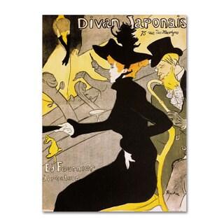 Henri Toulouse-Lautrec 'Divan Japonais' Canvas Art