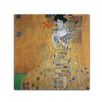 Gustav Klimt 'Portrait of Adele Bloch-Bauer I' Canvas Art
