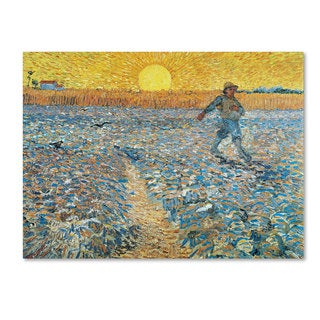 Vincent van Gogh 'Sower' Canvas Art