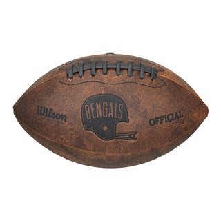 Cincinnati Bengals 9-inch Leather Football