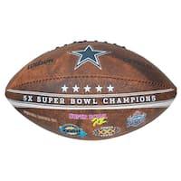 Wilson Dallas Cowboys 9-inch Leather Football