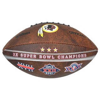 Washington Redskins 9-inch Leather Football
