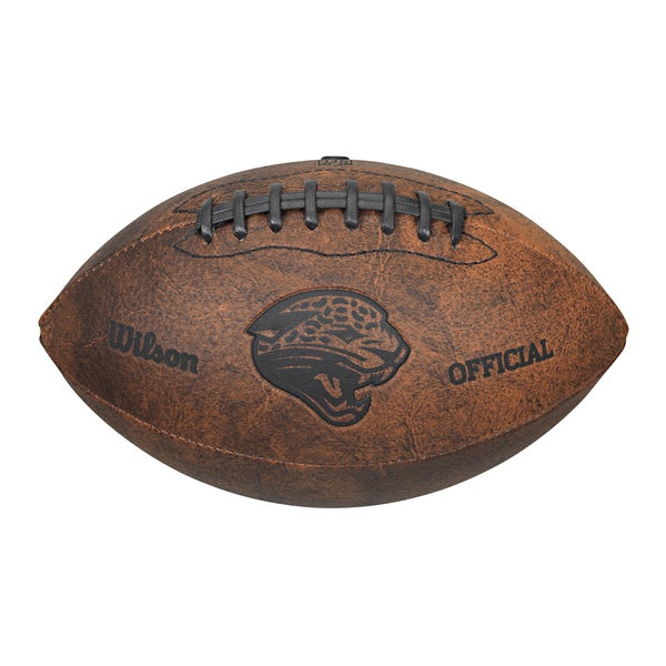 Jacksonville Jaguars 9-inch Leather Football