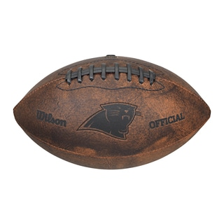 Wilson NFL Carolina Panthers 9-inch Leather Football
