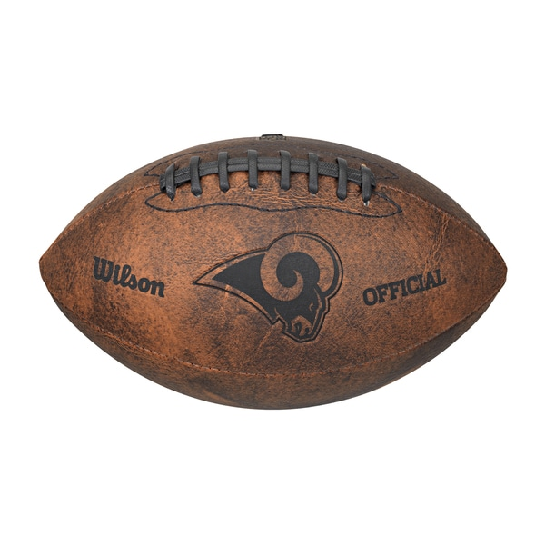 Wilson St. Louis Rams 9-inch Leather Football