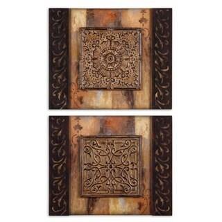 Uttermost Ornamentational Block I, II Set 2