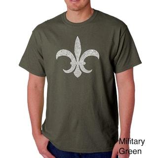 Men's 'Louisiana' Short Sleeve T-shirt