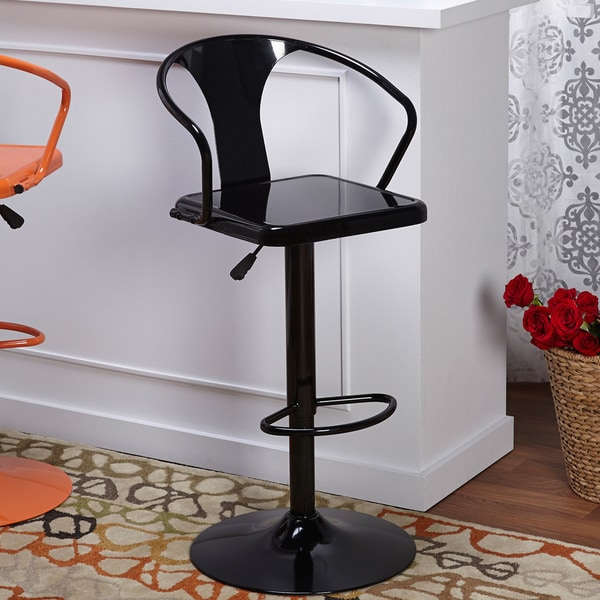 Simple Living Retro Max Adjule Height Swivel Bar Stool Free Shipping Today 15884185