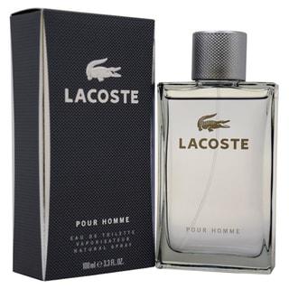 Lacoste Pour Homme Men's 3.4-ounce Eau de Toilette Spray