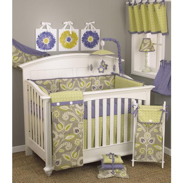 Shop Cotton Tale Periwinkle 8 Piece Crib Bedding Set
