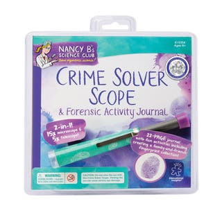 Nancy B's Science Club Crime Solver Scope & Forensic Activity Journal|https://ak1.ostkcdn.com/images/products/8617682/Nancy-Bs-Science-Club-Crime-Solver-Scope-Forensic-Activity-Journal-P15884263.jpg?impolicy=medium