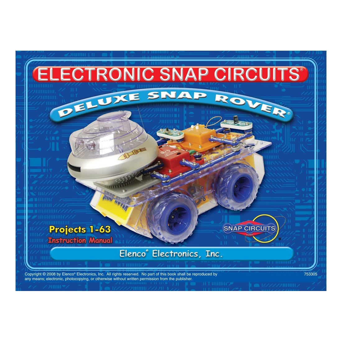 Electronic Snap Circuits Toys Games Compare Prices At Nextag Circuit Electronics Deluxe Rover