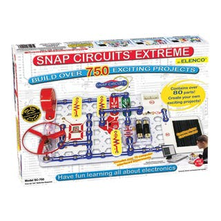 Elenco Electronic Snap Circuits Extreme|https://ak1.ostkcdn.com/images/products/8617722/Electronic-Snap-Circuits-Extreme-P15884269.jpg?impolicy=medium