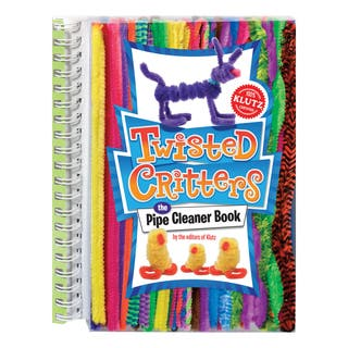 Twisted Critters the Pipe Cleaner Book|https://ak1.ostkcdn.com/images/products/8617766/P15884307.jpg?impolicy=medium