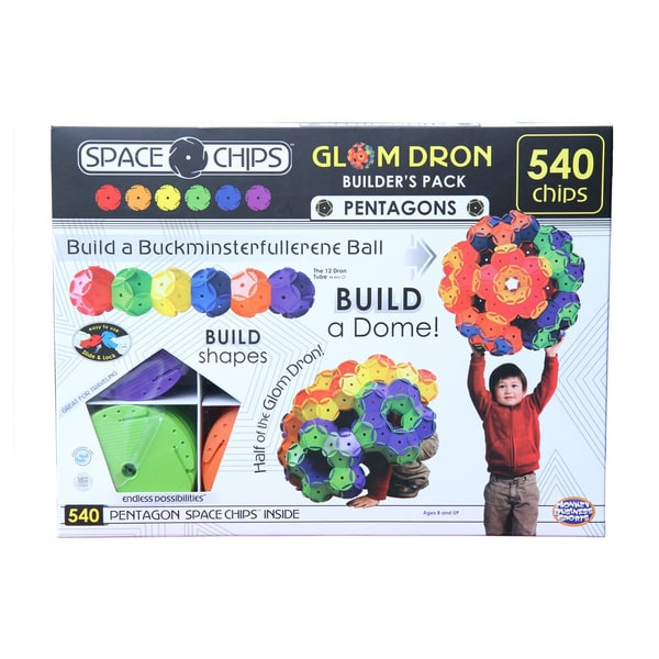 Space Chips Glom Dron Builder's Pack: 540 Pcs