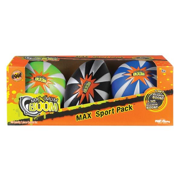 Max Boom™ Sport Pack