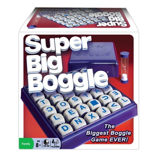 Super Big Boggle Game