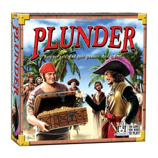 Plunder Pirate Board Game