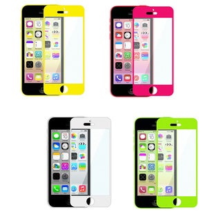 INSTEN Colorful Frame Screen Protector for Apple iPhone 5/ 5C/ 5S/ SE