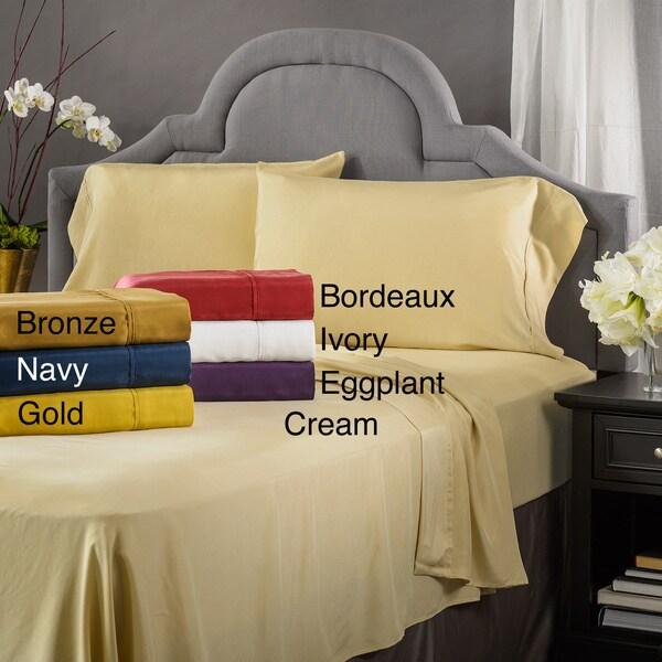 Elle & Alix Pure Mulberry Silk Sand Washed Habotai Pillowcase