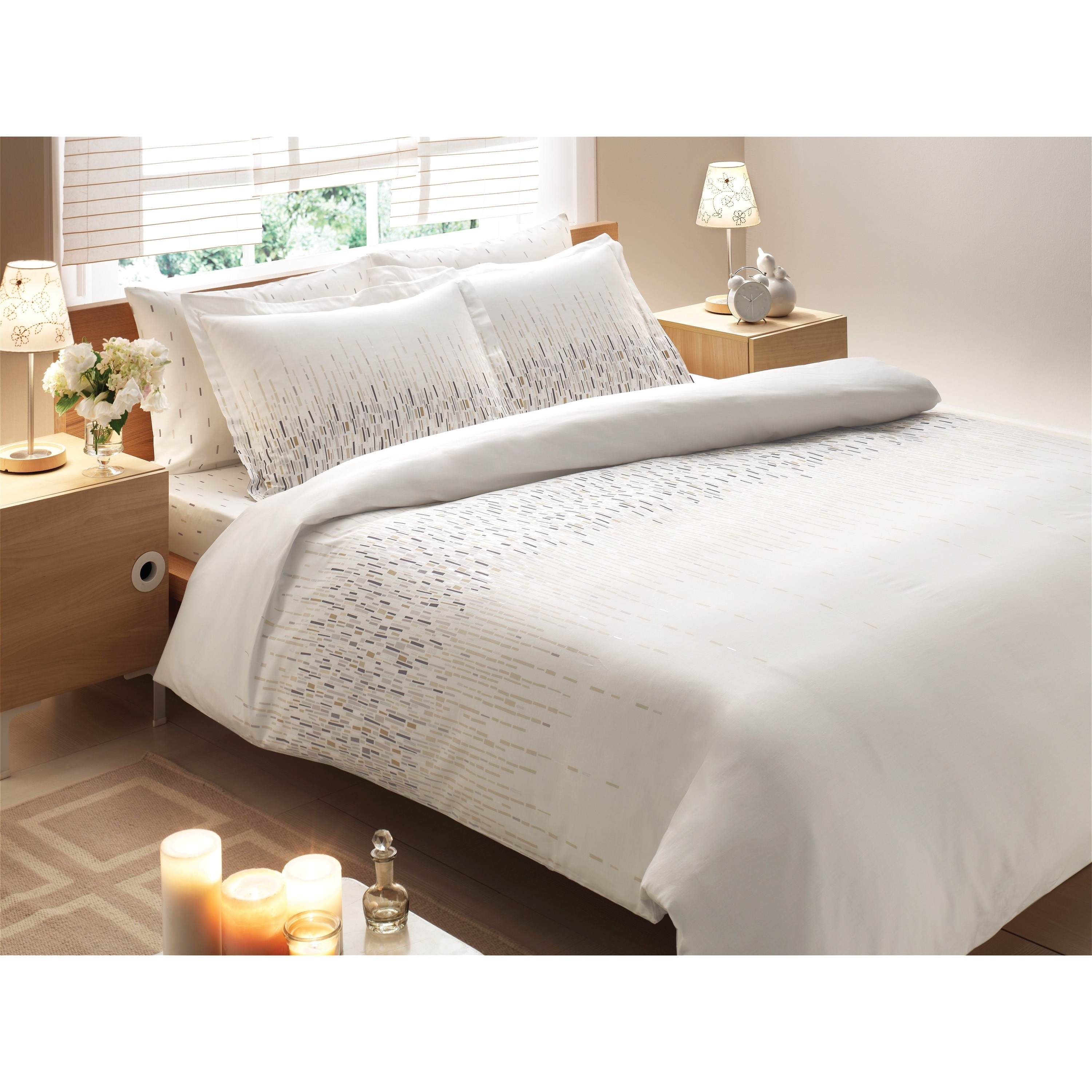 white thread luxury sheets set shop front bamboo count bed sheet