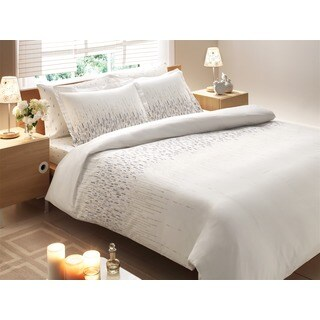 Brielle Rayon from Bamboo Twill Cascade 3-piece Duvet Cover Set with Giftable Box