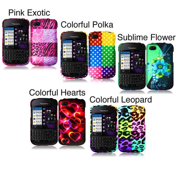 INSTEN Phone Case Cover for Blackberry Q10