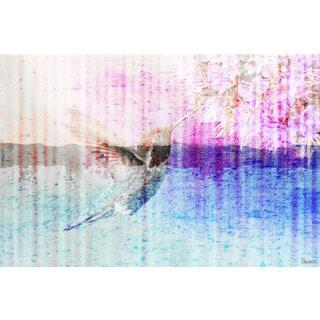 Parvez Taj 'Humming Bird' Canvas Art Print