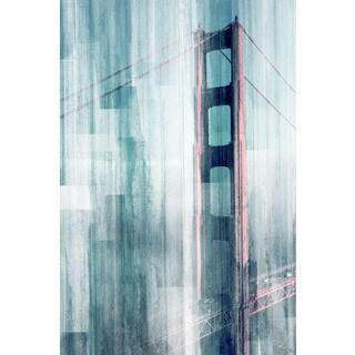 Parvez Taj 'Golden Gate' Canvas Art Print