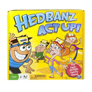 Hedbanz Act Up! Game